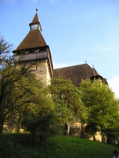 Walled Church, Biertan, Transylvania