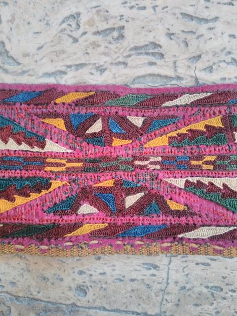 Turkmen Silk embroidery good condition