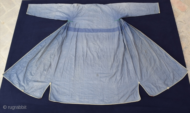 Antique Indigo Coat - Bukhara origin  Good condition  Price includes shipping any country.
