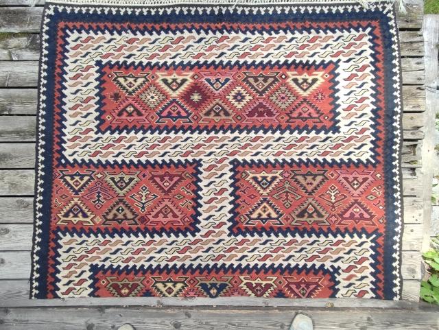 Balkan Kelim frag.144x179 cm