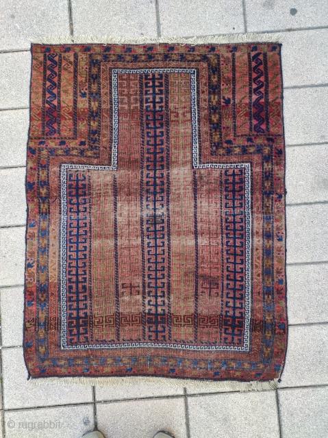 Antique Baluch prayer rug,87x113cm