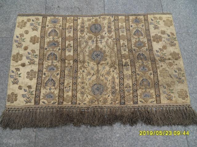Antique Ottoman Textile size: 63x106 cm.
