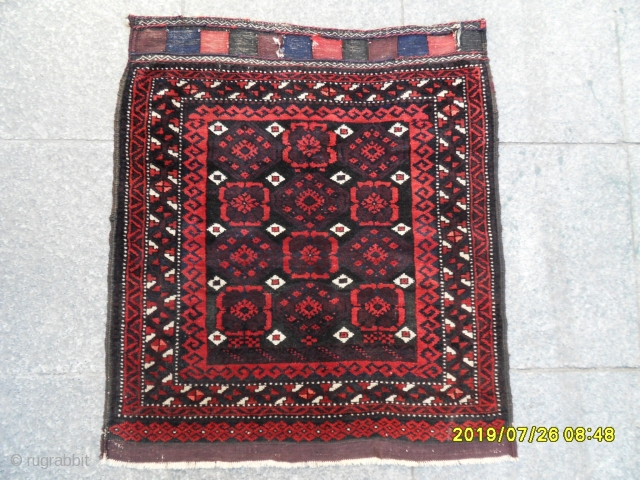 Antıque Beluch Bag Perfect Original  size: 77x68 cm.
