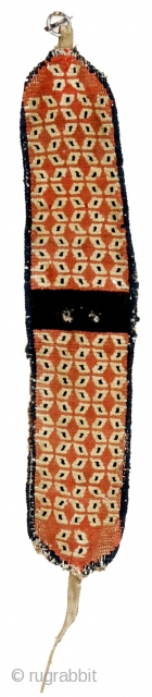 """http://rugrabbit.com/content/hunting-and-gathering-china-tibet-and-east-turkestan       Part of our online exhibition, """"Hunting and Gathering: China, Tibet, and East Turkestan""""   Yak collar with rice grain pattern Tibet Circa 1900 63 x 12 cm (25 x 5 in.)  ..."""