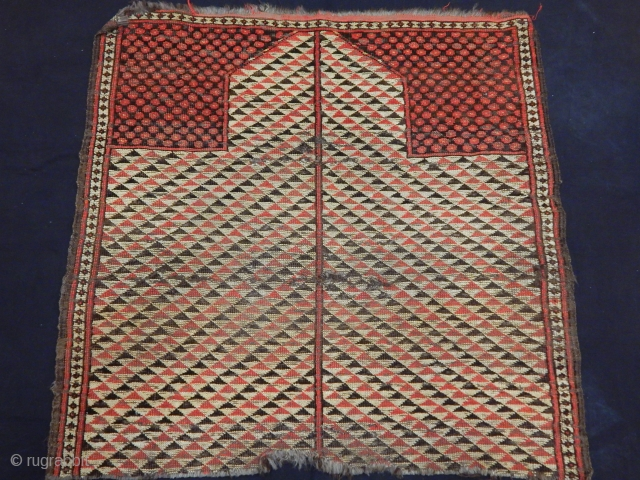 Antique Kırgız Prayer Rug