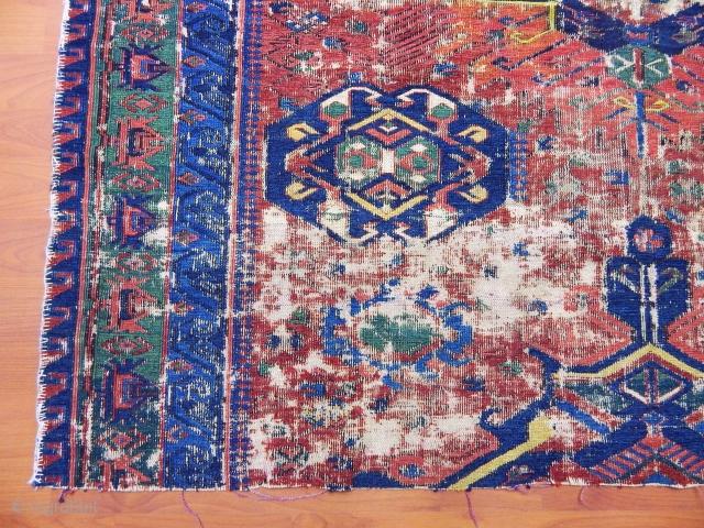 Antique Caucasian Zeyhur Kuba Sumak Fragment