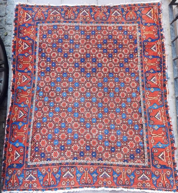 Antique Avsar Rug  Size.145x127 cm