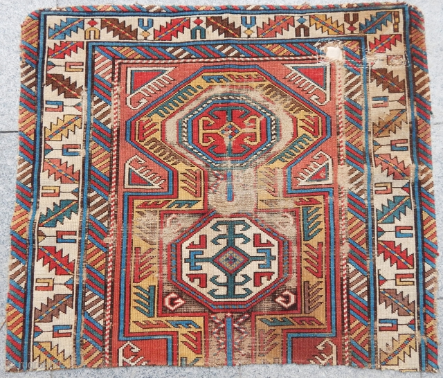 Antique Caucasian Kuba Sirvan Fragment