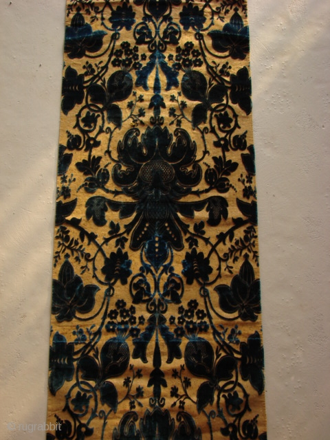Antique Russian velvet.