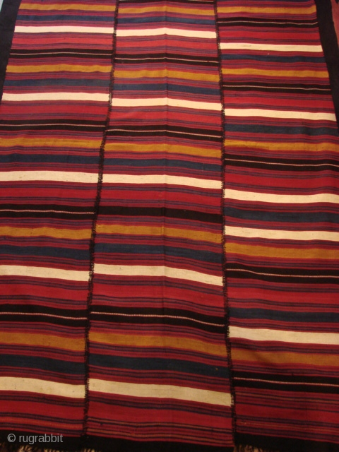 North Persian Jajim. Early 20th century.  Beautiful colours Excellent condition.