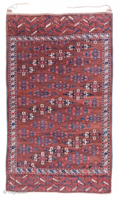 Lot 108, Yomud main carpet, start price: € 2.000, Auction 30th April 3pm, http://www.liveauctioneers.com/auctioneers/LOT44821973.html