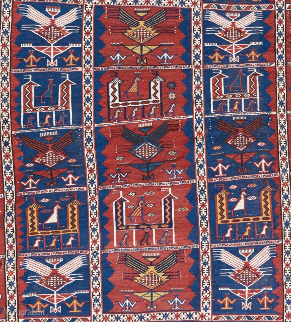 Come visit my stand at the tribal and textile arts show next week in San Francisco to view this and many other pieces of rare woven art. The show will open on  ...