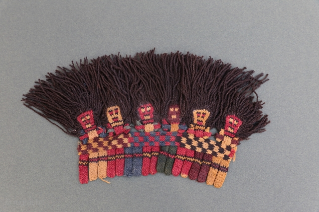 Beautiful Proto Nazca wool fragment , good condition and fresh colors .