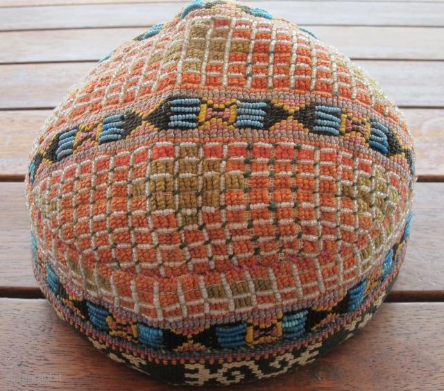 Rare Uzbek Hat. Circa 1900. Excellent condition.