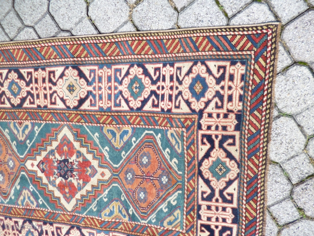 Caucasian Kuba runner XIX th Century perfect conditions