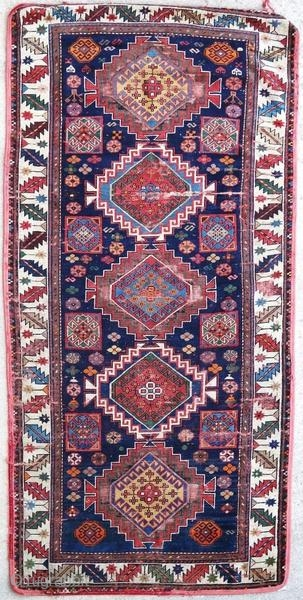 Old Caucasian gallery with some wear and tears.