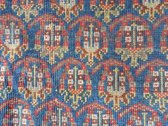 South West Persian rug, infinite boteh's! Cut and not shut. 81in x 58in.