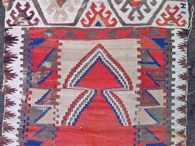 Turkish Prayer Kilim 40 inches by 57 inches   please check my other postings