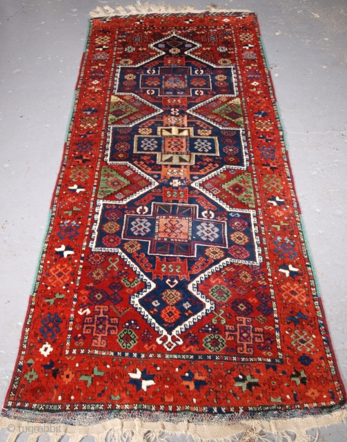 Yuruk long rug, size:235 x 94cm. click the link www.knightsantiques.co.uk to view more items.