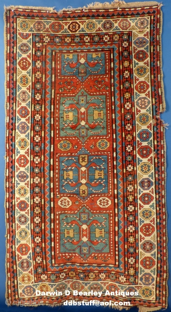 Antique Caucasian Rug, possibly a Chyly(?)