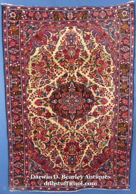 "Persian Borchalou, 83"" X 52"", Excellent Condition.