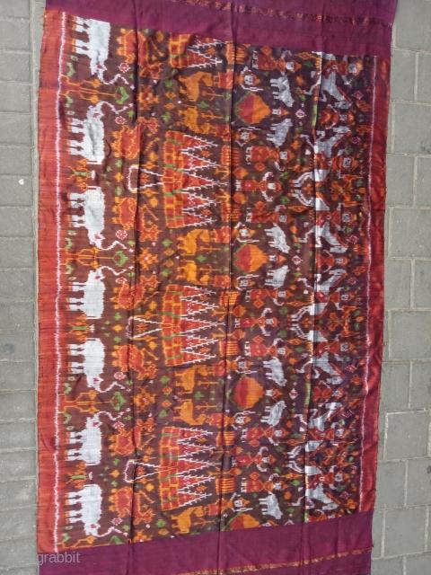 Cambodian /Khemer silk ikat size:170x95-cm please ask