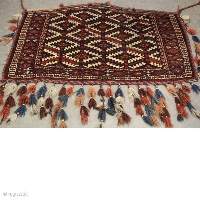 Antik Yomut Azmalik Camel Wedding Trapping. Size :100cm x 70cm