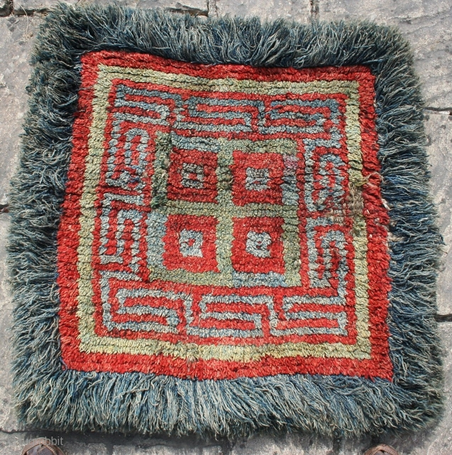 "Tibetan wangden seating mat.33"" by 34"""