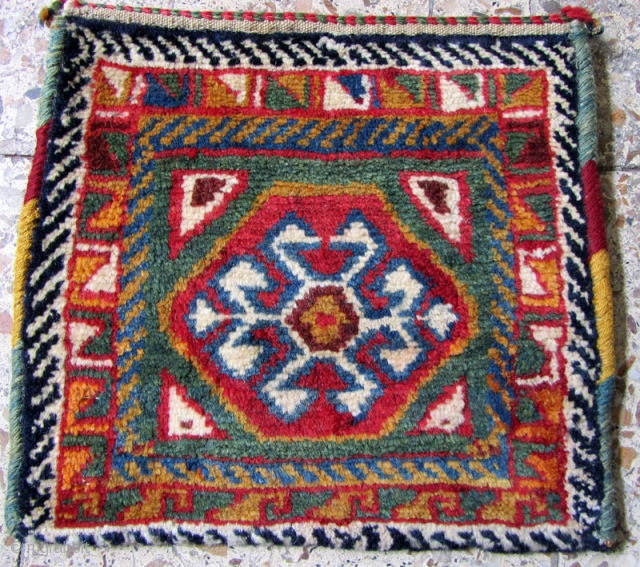 sw persia bag from shekar lu tribes,wool frings,Size:32 x 35 cm,