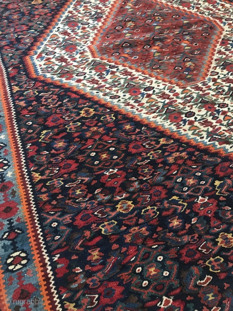 Seneh kordestan kilim,Size:154x114 cm,Came in after hand washing
