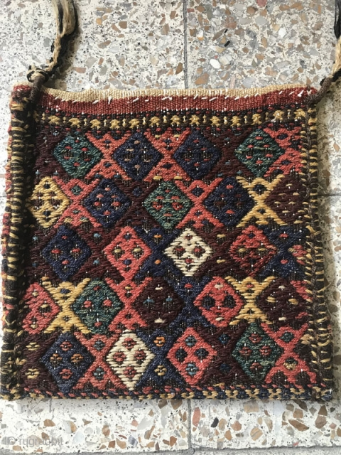 Sanjabi Kord bag in perfect condition.Size:38x38 cm