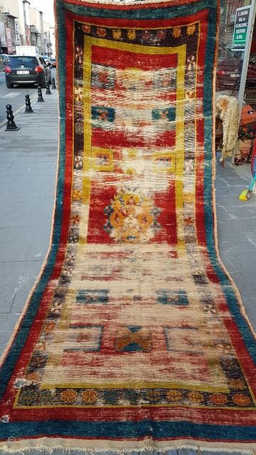 Size : 130 x 360 (cm), Middle anatolia, Konya (karapinar) .