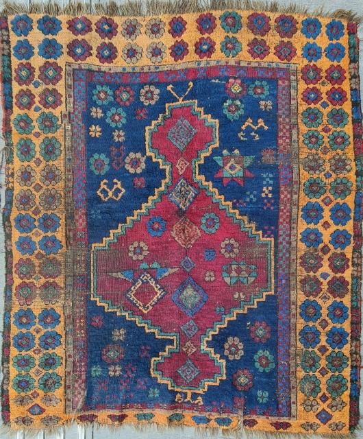 Size : 136 x 163 cm, East anatolia, Elbistan .