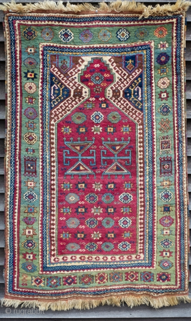 East Anatolian prayer rug.   