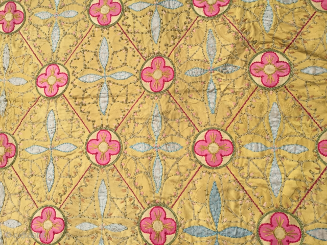 Silk embroider maybe europa Size238/135 cm