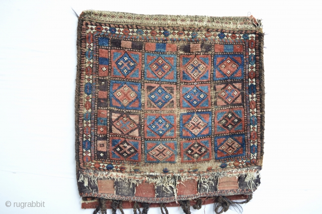 Mid 19th century Baluch bag face