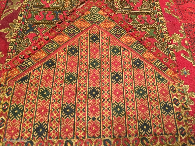 """Macedonian Embroidery end of 19th Century Size:148 X 76cm     4'11""""X2'7"""""""