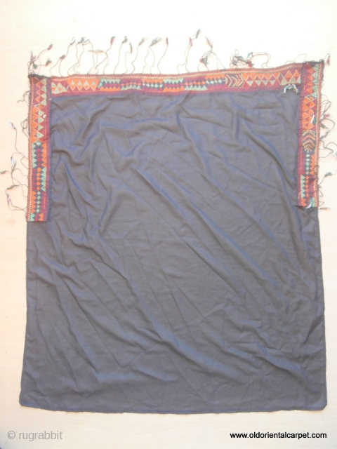 MOROCCAN BERBER TEXTILE ARTIFACT. This is an old veil which would have been used by a Berber woman and originates from the region of Zagora which lies between the Anti Atlas mountains  ...