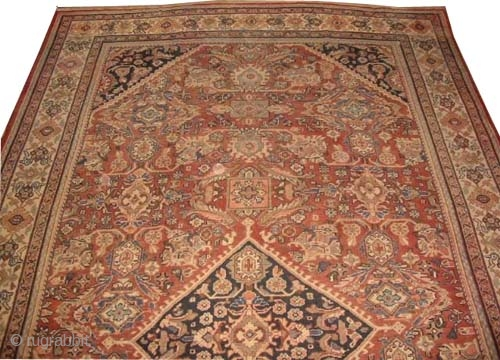"Mahal Persian circa 1925 Semi-antique, Size: 550 x 320 (cm) 18'  x 10' 6""  carpet ID: P-5051