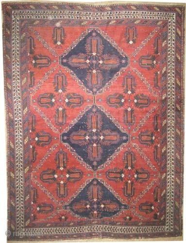 "Afshar Persian, knotted circa in 1915, antique, collector's item, 165 x 127 (cm) 5' 5"" x 4' 2""  carpet ID: K-5690