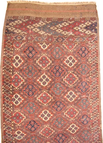 Tschaudor Turkmen antique.  Collector's item. Carpet ID: K-884  