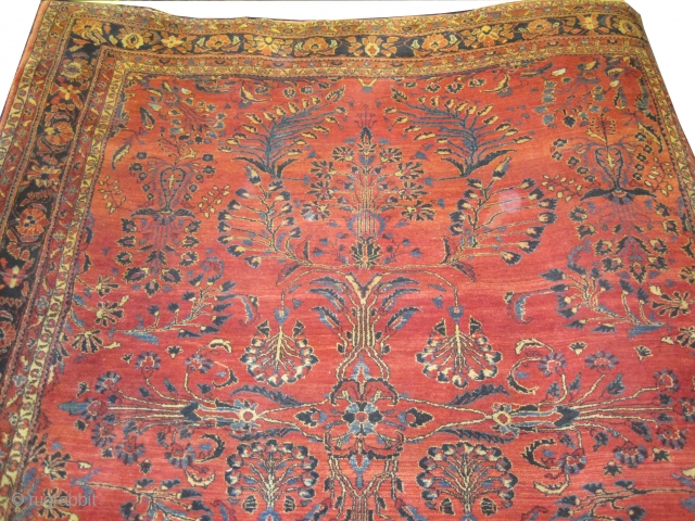 "Lilihan Persian knotted circa in 1920 antique. Size: 347 x 302 (cm) 11' 5"" x 9' 11""  carpet ID: P-3612