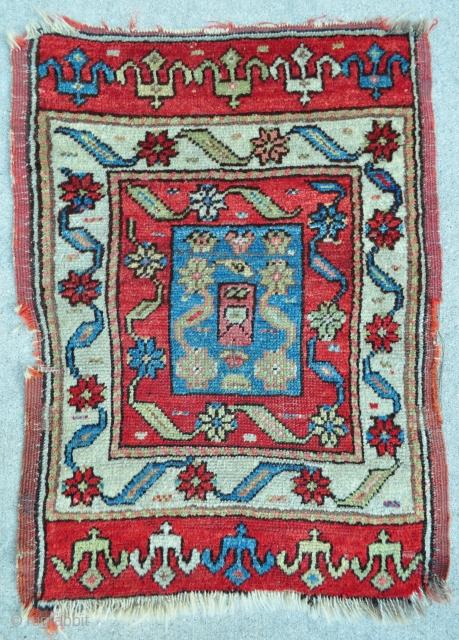 "Anatolian Yastik - 24"" x 32"" - 61 x 81 cm."