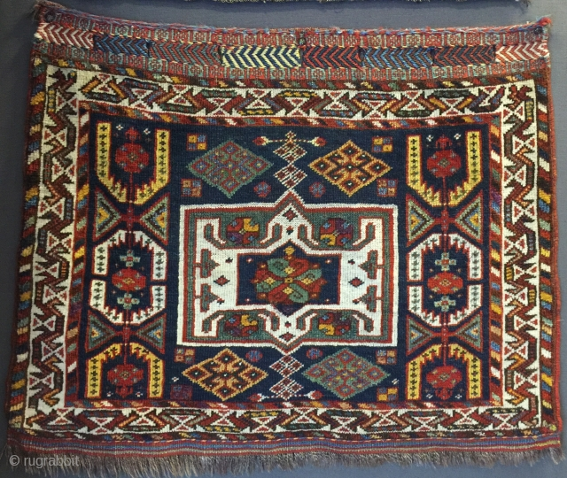 072x057 Southwest Persian tribal bagface