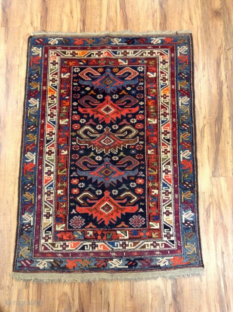 Antique Caucasian vrey good condition size 115x80