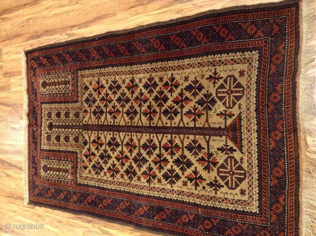 Baluch Prayer .Natura color  in very good condition size 145x90