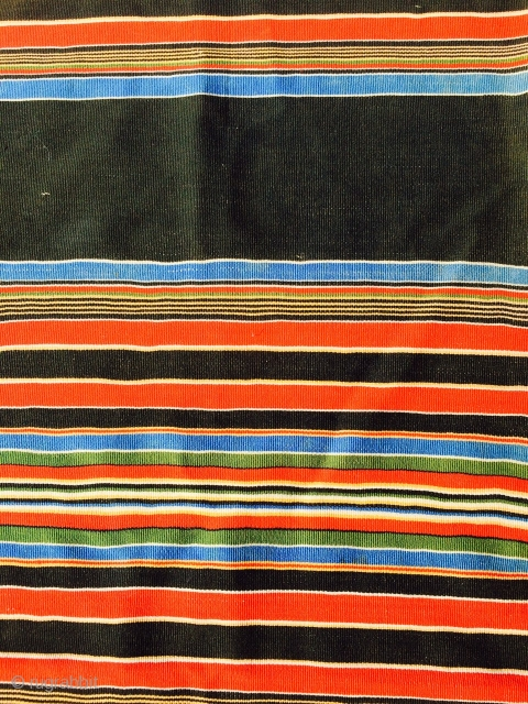 """As found: 1800's European wool Shawl measuring 5'4""""x 5'1"""" in excellent condition and still has an owners name woven on the textile.  Thanks for looking!"""