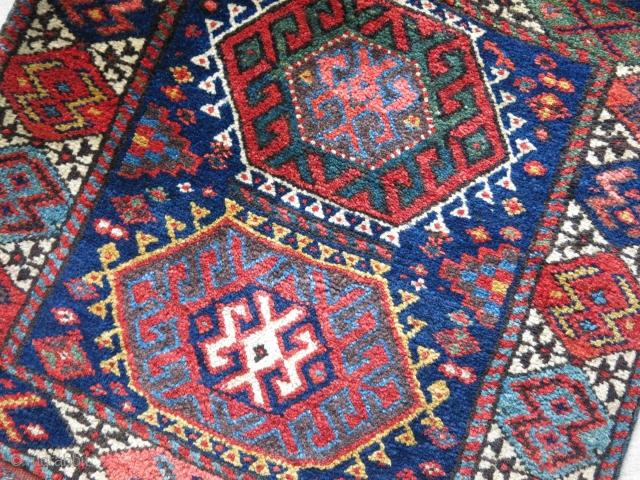 Northwest Persian Kurdish rug.