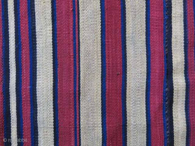 Shahsavan – tribal wool JAJIM KILIM. Shahsavans are probably the best group who weaves them in best type and fineness. This particular one is woven with mainly soft gold yellow – red  ...