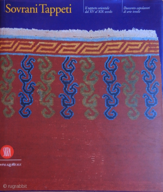 Sovrani tappeti a cura di Edoardo Concaro e Alberto Levi editore Skira 1999 Testo in Italiano/Inglese Italian/English text. Come nuovo - as new condition.